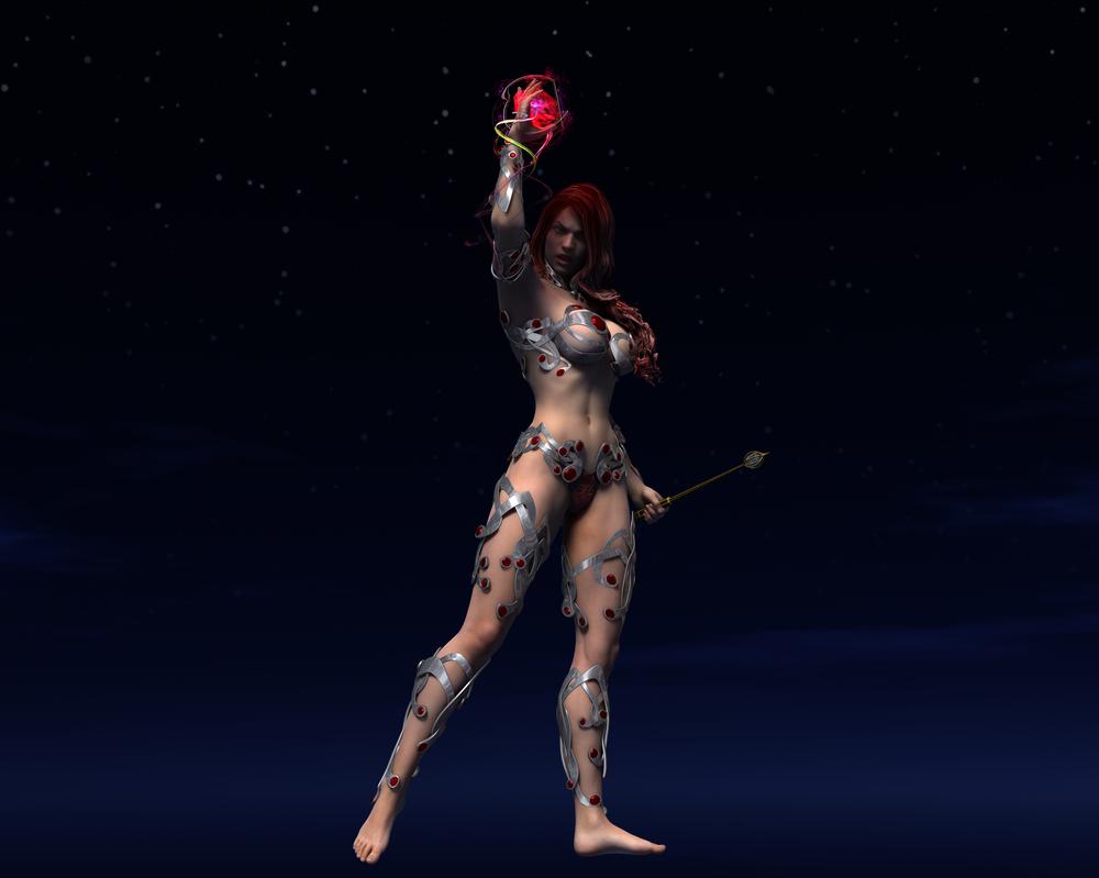Priestess2 by Calburi