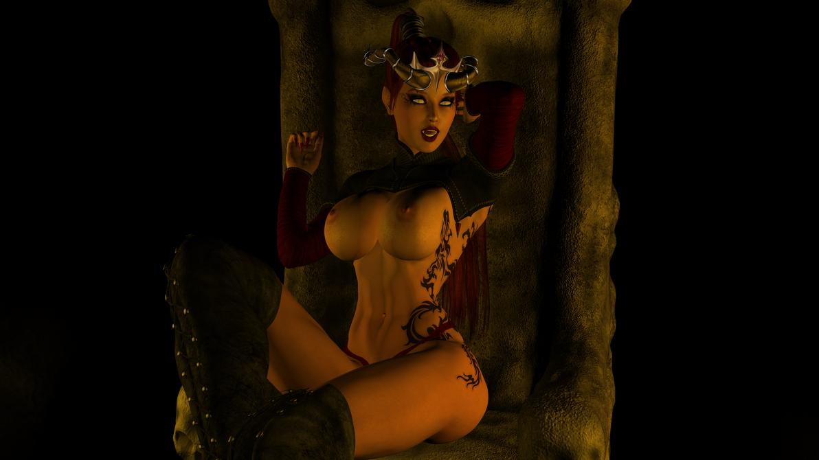 Crypt Queen by Calburi