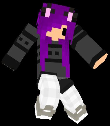 how to purple die in minecraft