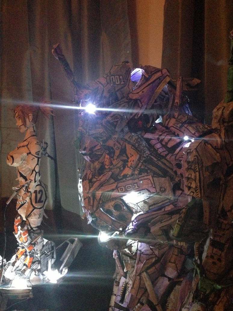 Unit 1 and Twelve lit up by JarrethGolding