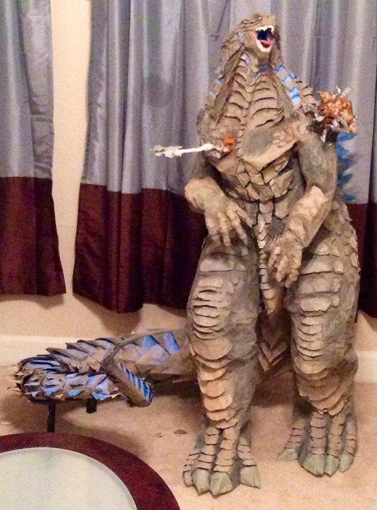 Godzilla front update by JarrethGolding