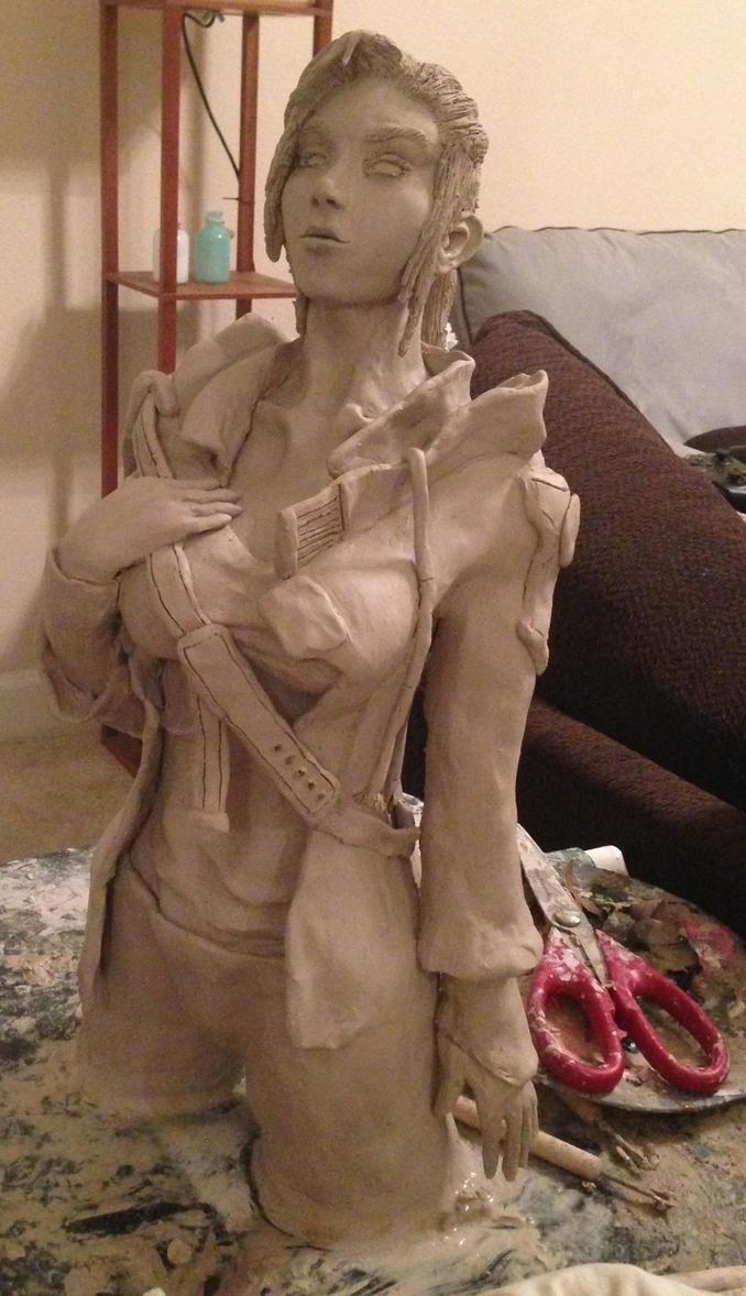 Hugh sculpt WIP 2 by JarrethGolding