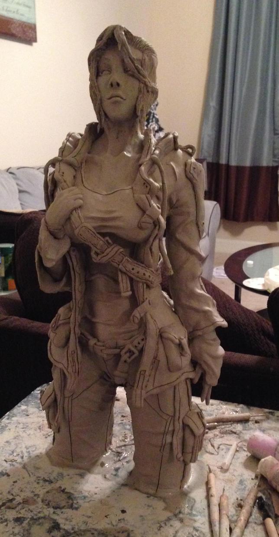 Hugh sculpt complete by JarrethGolding
