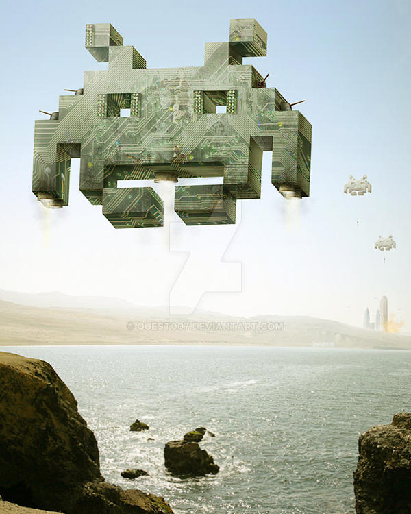 Invaders From Space by Quest007