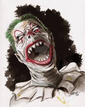 Demented Shape Shifting Clown