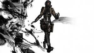 Metal Gear Solid 4 Haven Trooper MMD Model