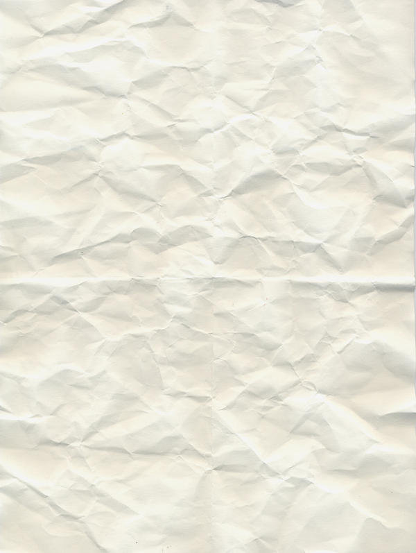 White crumbled paper texture by Babybird-Stock