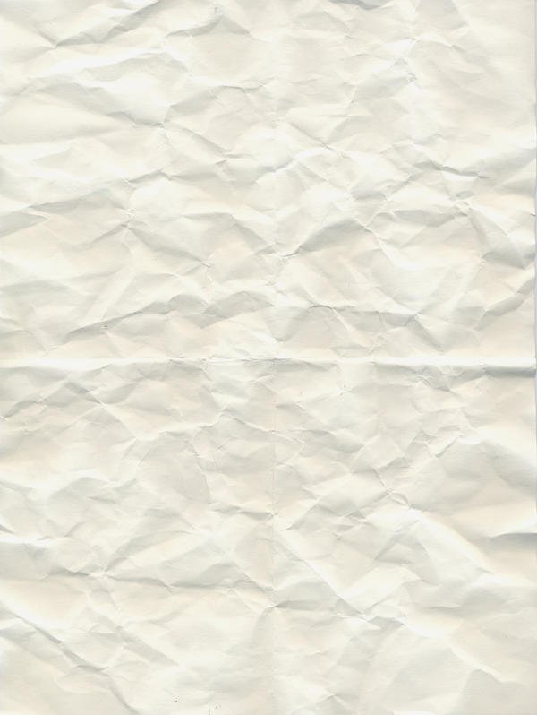 White crumbled paper texture