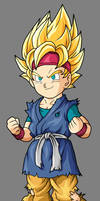 goku jr ssj2 by maurogoku
