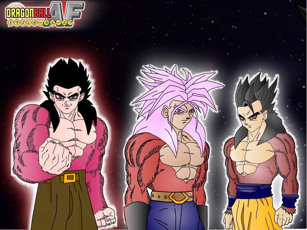 Displaying 20 gt  Images For - Gohan Goten Fusion   Goku And Gohan Fusion Ssj4