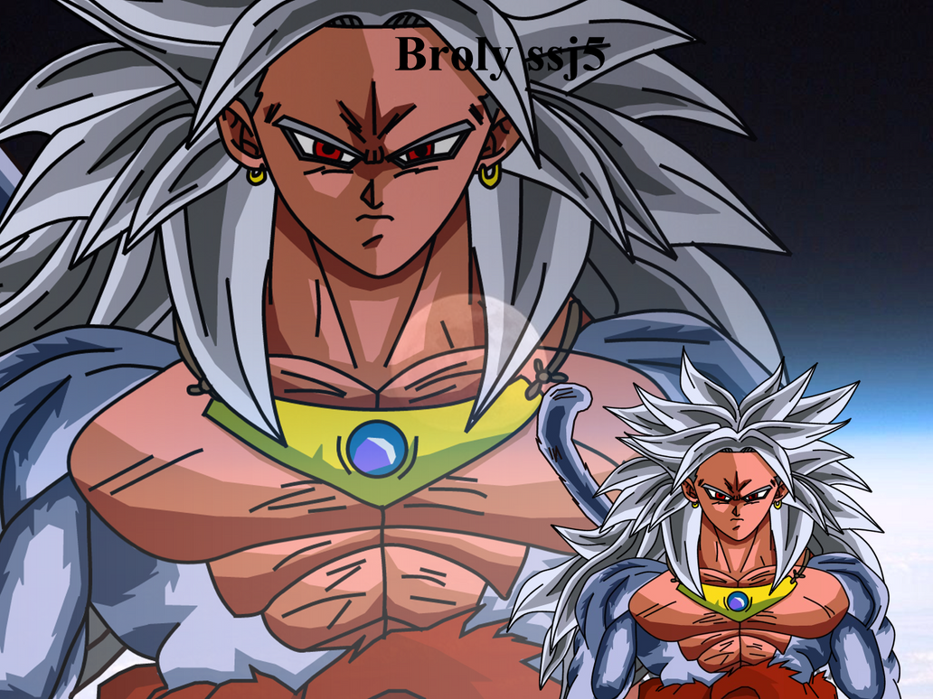 Goku Fase 10 Para Colorear: Broly Ssj5 Coloreado By Maurogoku On DeviantArt