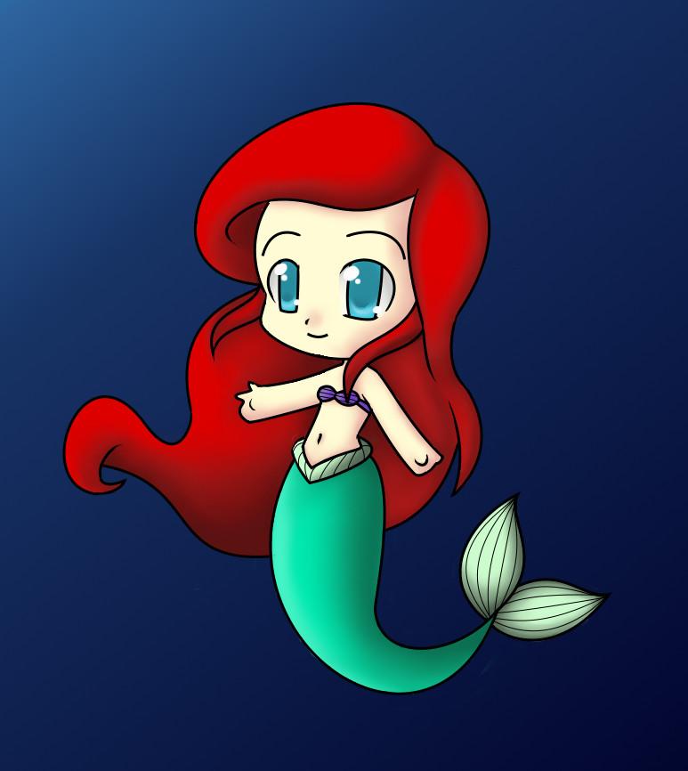 Chibi Ariel by Annalee-Sama
