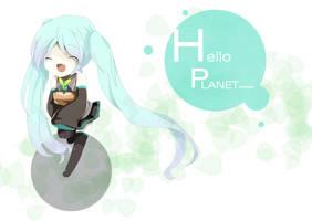 .:Hello Planet:. by Yuimatsuri