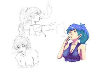 Sketchs by Mick-cortes