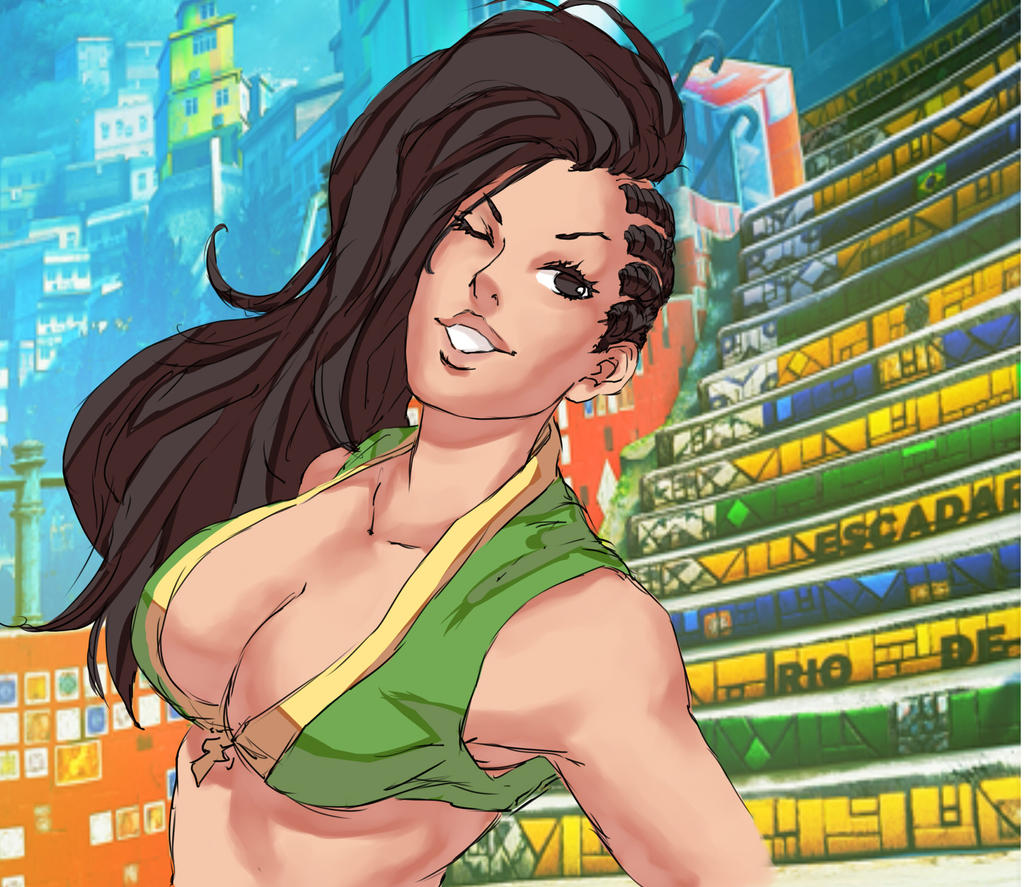 Laura - Street Fighter V by Mick-cortes
