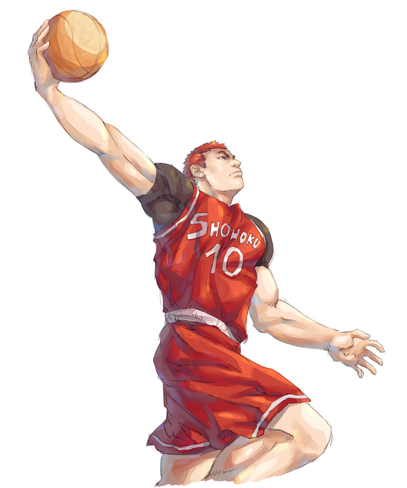 sakuragi hanamichi slam dunk by mickcortes on deviantart