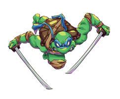 Leonardo - Teenage Mutant Ninja Turtles by Mick-cortes