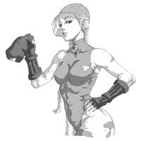 Cammy - Street FIghter by Mick-cortes