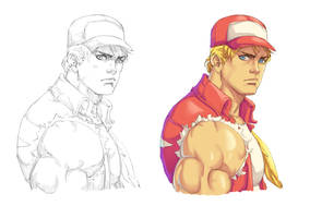 Terry Bogard by Mick-cortes
