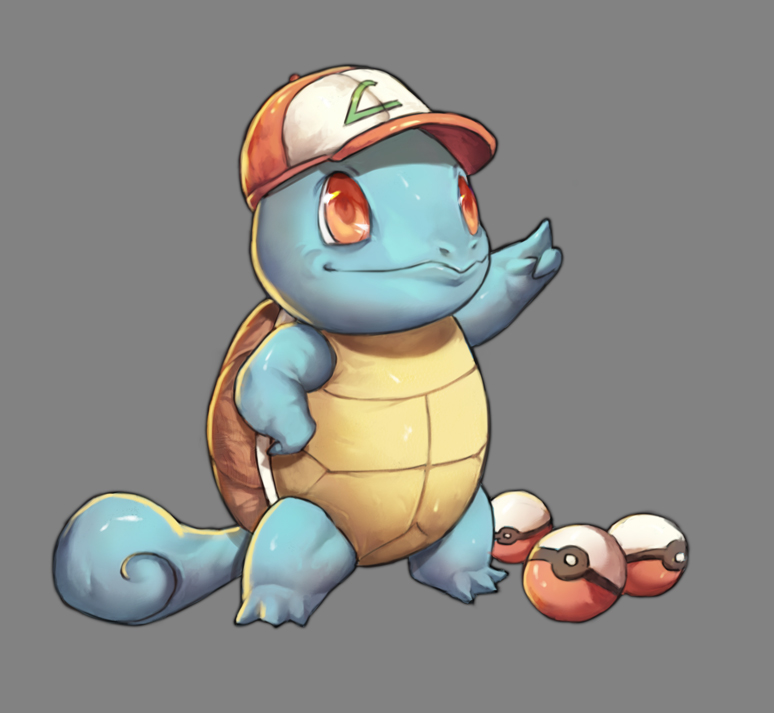 Squirtle by Mick-cortes