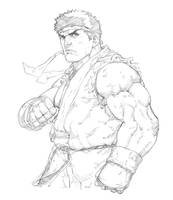 Ryu - Street Fiighter by Mick-cortes