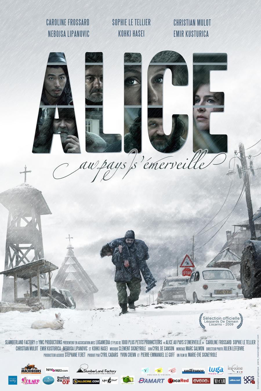 Affiche Alice by pierremassine