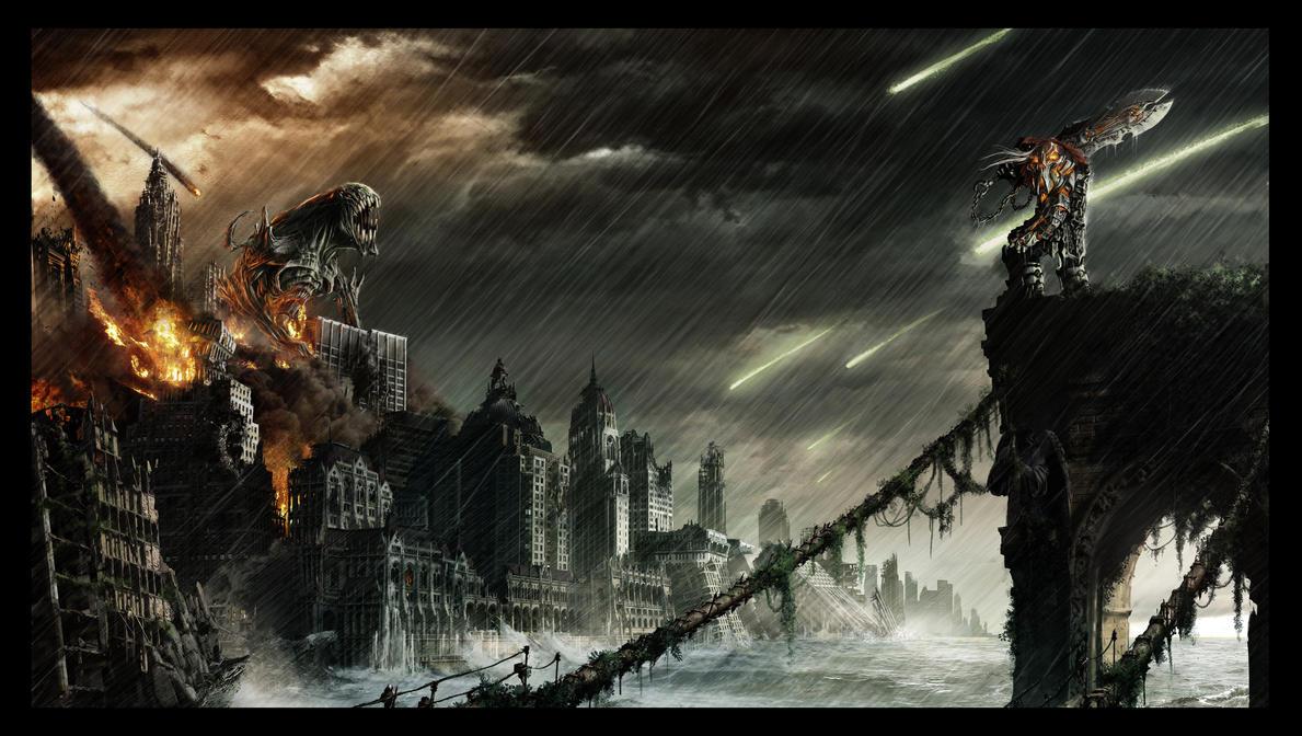 Apocalypse Darksiders by pierremassine