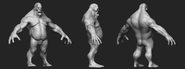 Frankenstein's Monster ZBrush Sculpt