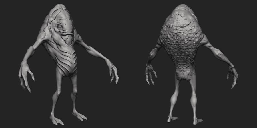 Zbrush Creature Sculpting