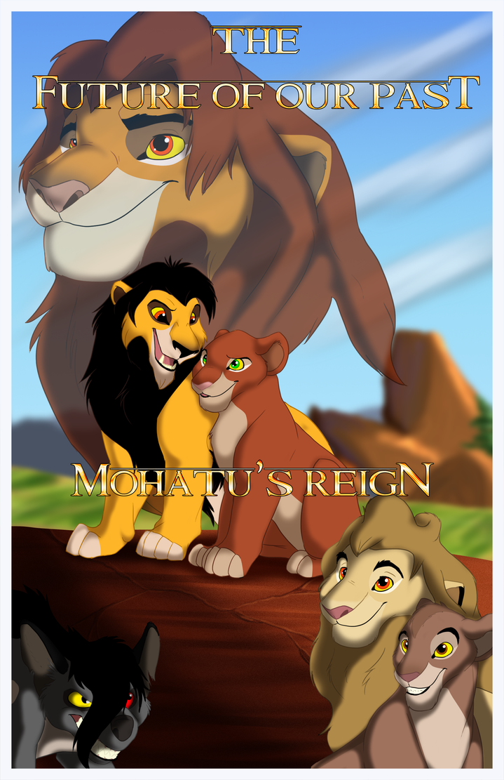 P.O The Lion King Mohatu__s_reign_comic_cover_contest_entry_by_trulion-d52of5p