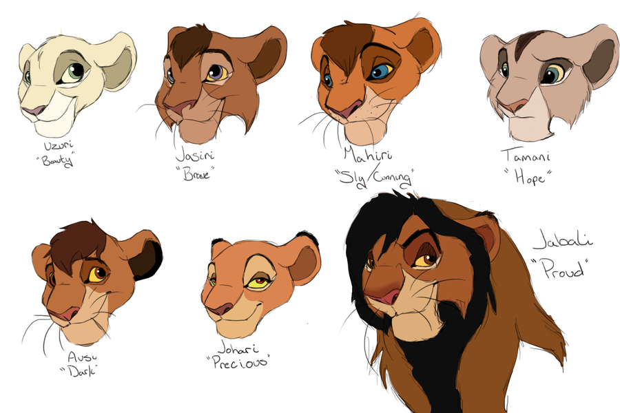 P.O The Lion King Tales_from_priderock_new_characters_by_trulion-d570atu