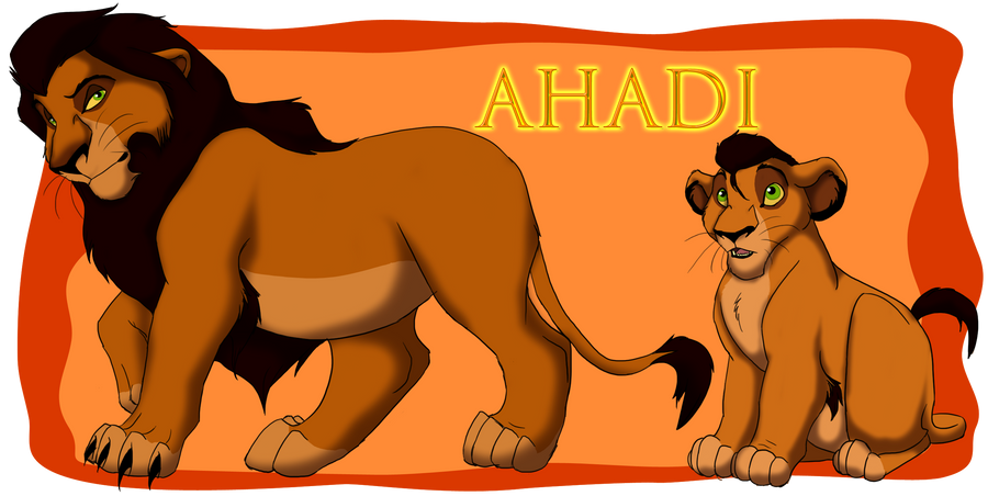 P.O The Lion King Ahadi_by_trulion-d57i78w