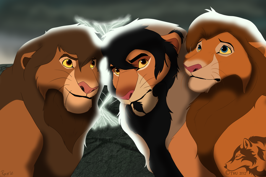 P.O The Lion King Band_of_brothers_by_trulion-d5amya4