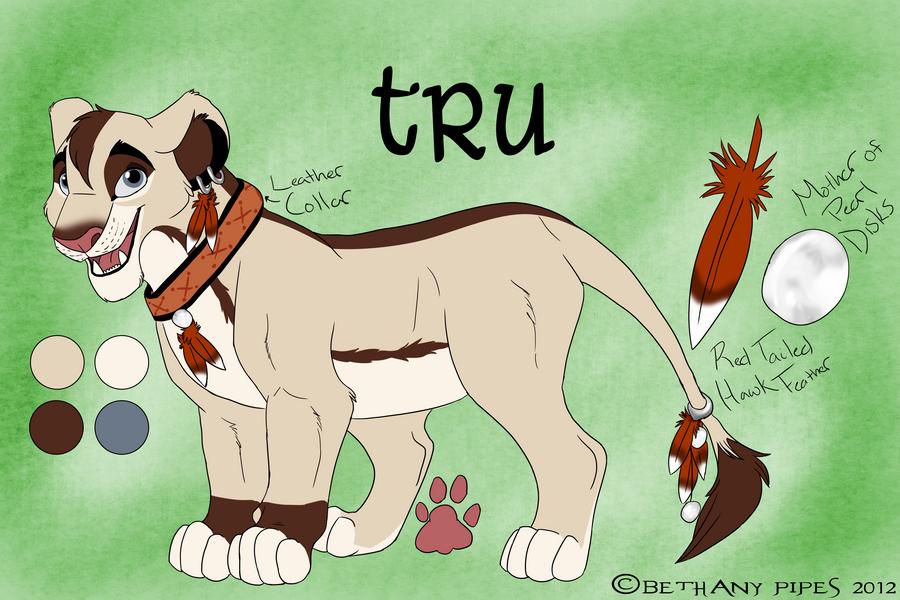 P.O The Lion King Tru_reference_2012_by_trulion-d5ljkku