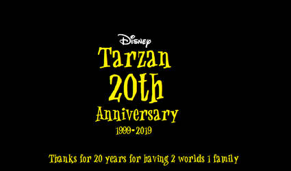 20 Years For Having 2 Worlds 1 Family