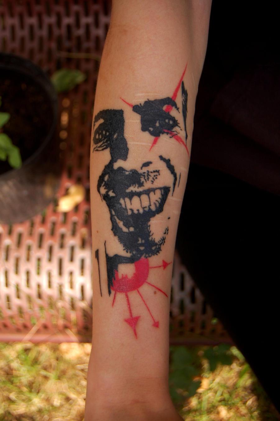 David bowie tattoo by silentplannet on deviantart for David bowie tattoos