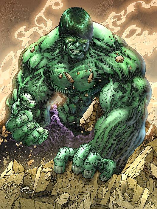 Hulk Colors by lab-ideas