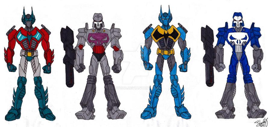 Transformer Crossover by ryuzo