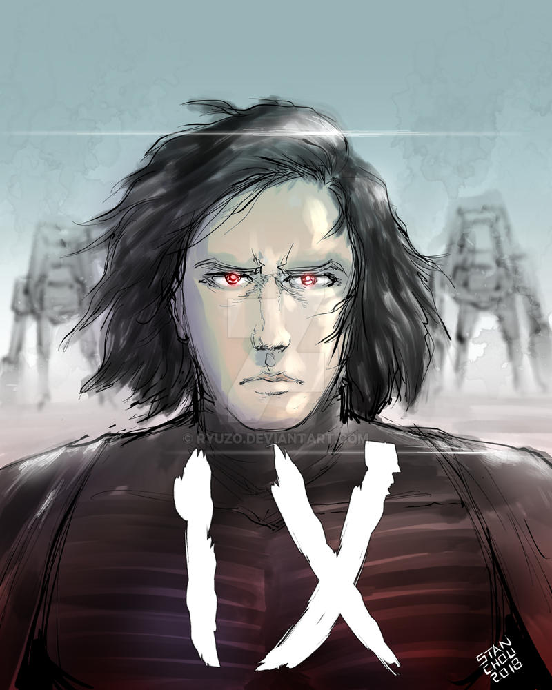 Kylo Ren May the 4th 2018 by ryuzo