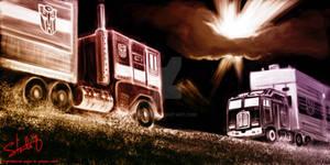 Optimus Prime vs. Motormaster