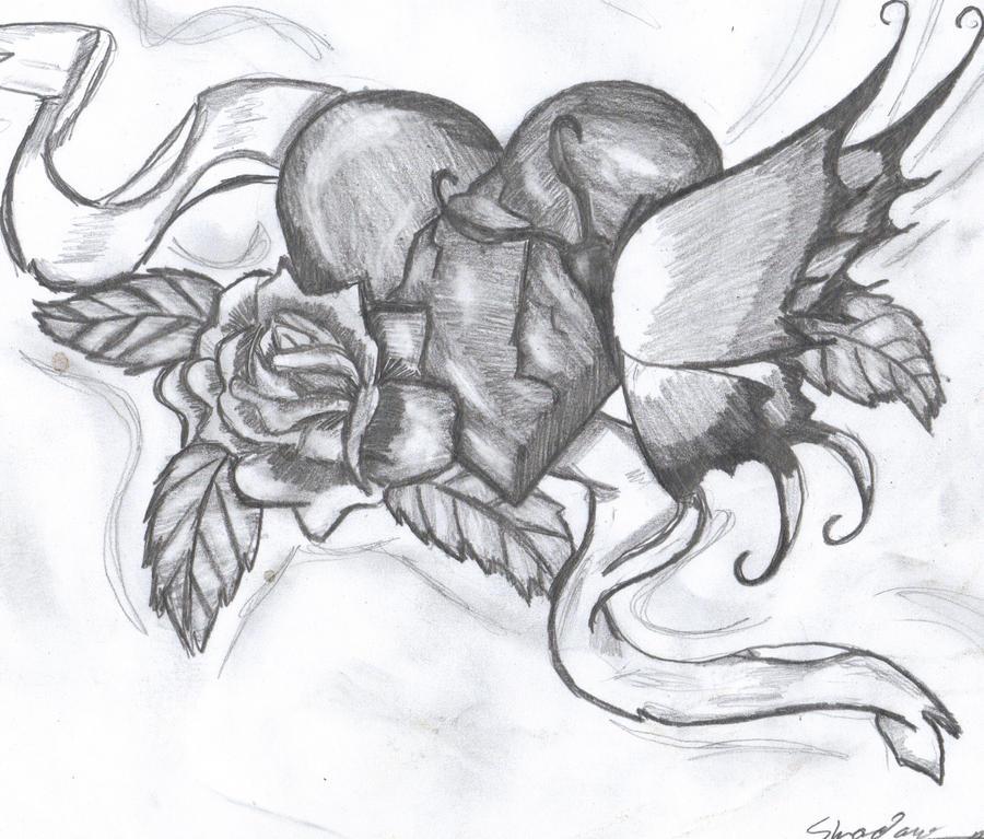 Broken Heart by Darkmoon-butterfly on DeviantArt