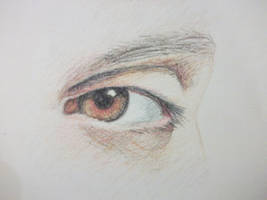 Frank Iero's Eye by Claire-Lumsden