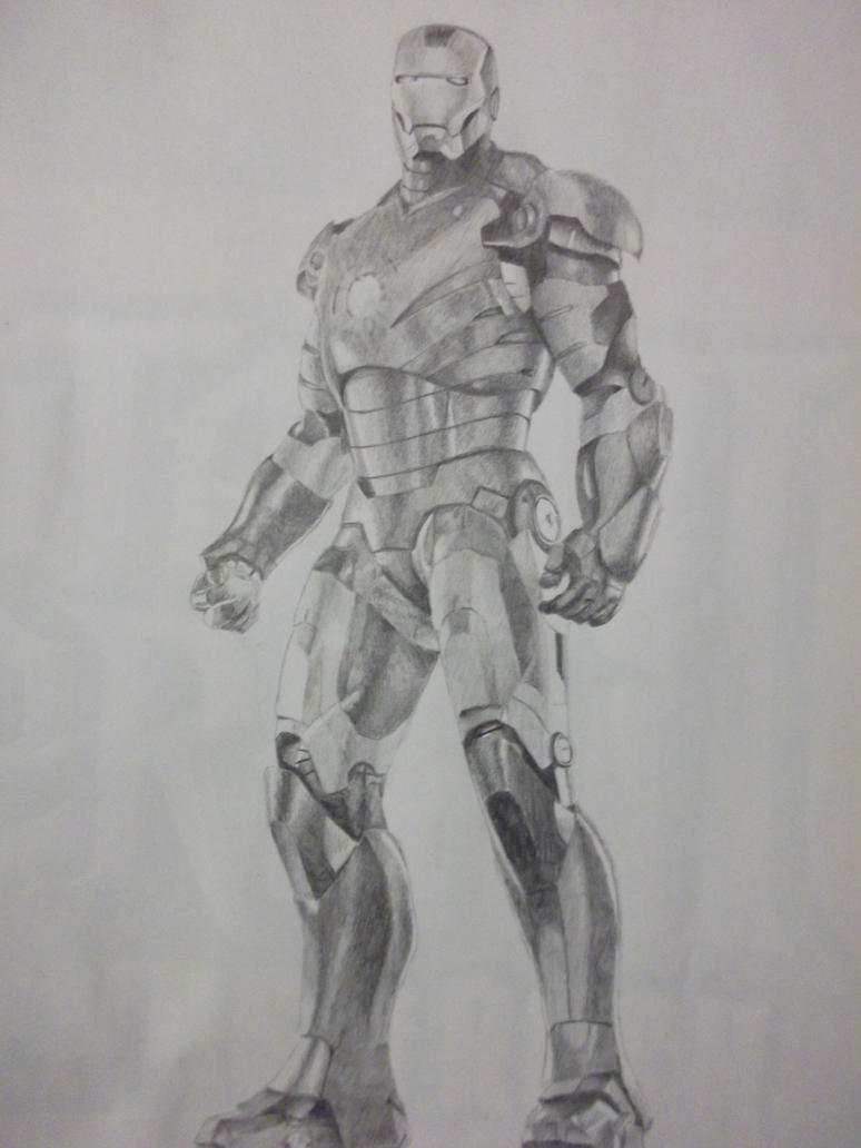 Iron Man by Claire-Lumsden