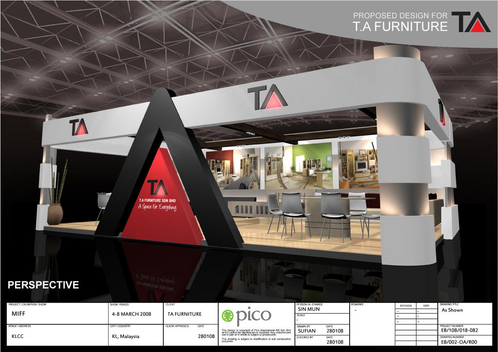 Ta furniture booth design 2 by virus26 on deviantart for 2 by 4 design