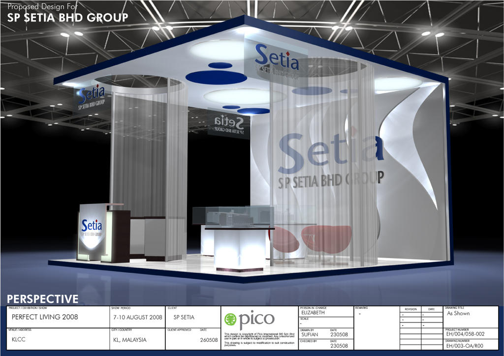 Exhibition Booth Website : Sp setia exhibition booth by virus on deviantart