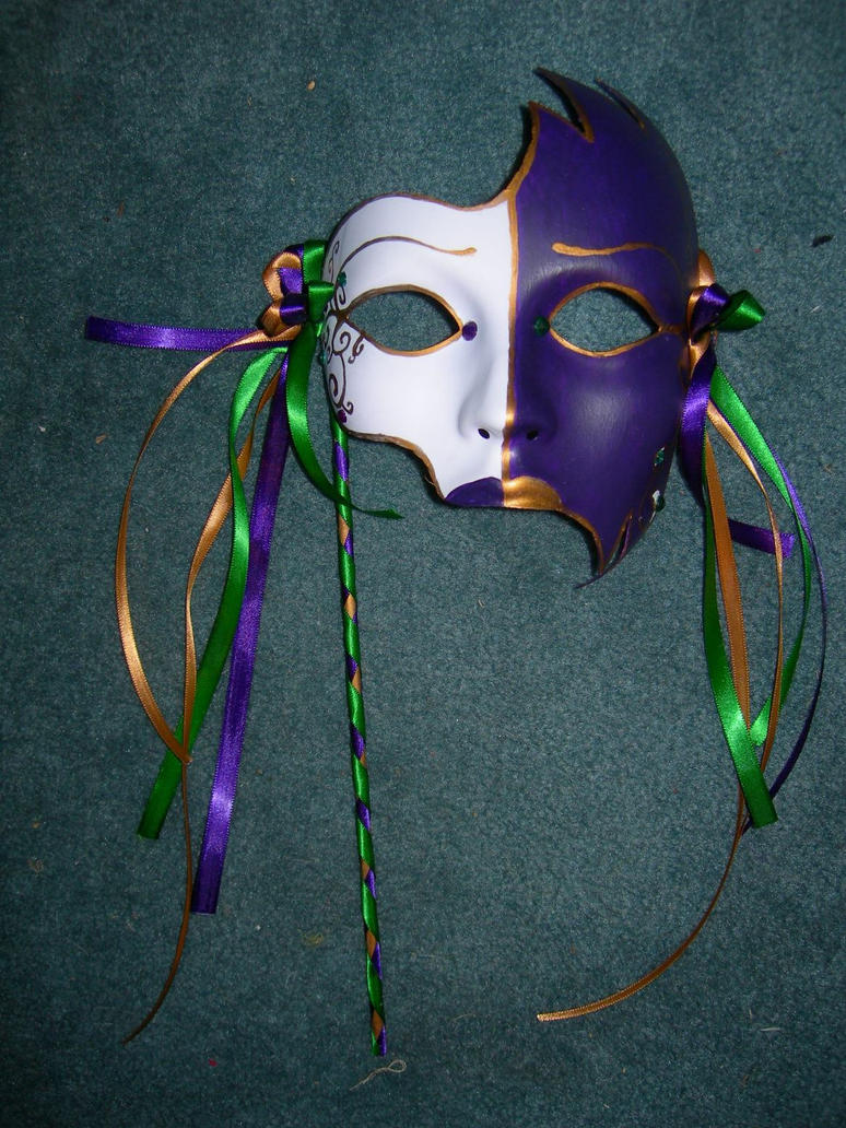 Mardi Gras Mask by Simonbagel on DeviantArt