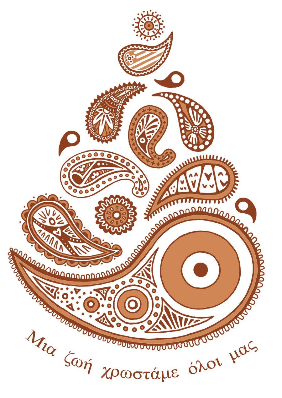Paisley Henna Tattoo Designs