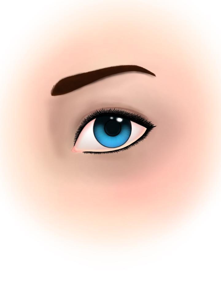 Realistic Eye by michreska