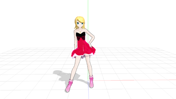 mmd Request rin as yasuko by dianita98