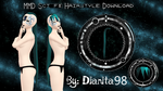 MMD Sci-Fi Hairstyle Download by MikuEvalon